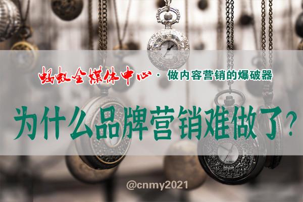 互联网品牌内容营销专家,蚂蚁全媒体中心刘鑫炜解答:为什么你的品牌营销越来越难做了?